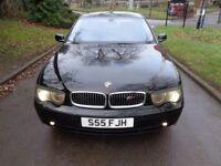 2002 BMW 7 Series 4.4 745i 4dr [PRIVATE REG+LPG GAS+330 BHP]