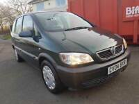 VAUXHALL ZAFIRA LIFE 16v AUTO,, 7 SEATER ,,2 KEYS ,,CLEAN AND TIDY £1000