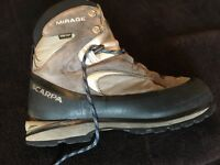 SCARPA MIRAGE GORETEX. (Rated B2 / Size 8/42)
