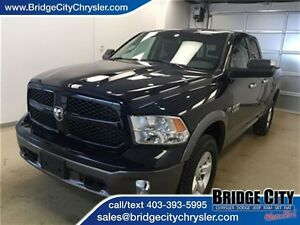 2013 Ram 1500 Outdoorsman- Quad Cab with Remote Start and Tow Pa