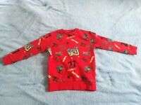 Never worn jumper from Next for 6-7 year old boys
