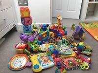 Toy bundle including Fisher Price & Lamaze