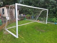 Football goal posts 16ft10 ×6ft8inch for sale