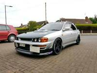 Impreza wrx sti v2 modified gf8 track spec jdm not supra skyline m3 cupra 350z