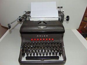 Alte Adler Schreibmaschine - Rarität - Funktionsfähig - Sammlerstück