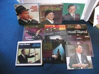 A COLLECTION APPROX 100 FRANK SINATRA RECORDS