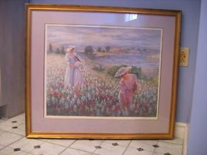 """APRIL MEADOWS"" BY LYNN GERTENBACH LTD. EDT. FRAMED PRINT"