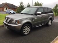 09 RANGE ROVER SPORT 2.7 TDV6 S AUTO LEATHER SAT NAV FSH P/EX WELCOME