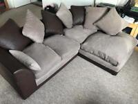 Comfy corner sofa 1 year old - can deliver