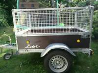 5x4 Caged Tipper Trailer