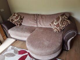 Large fabric sofa £250