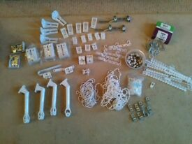 Silent Gliss and Kirsch curtain and blind track assorted fixings
