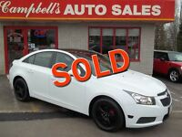 2011 Chevrolet Cruze LT TURBO!! SUNROOF!! ALLOYS!! CRUISE!! PW P