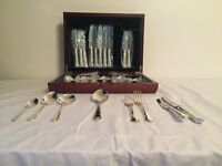 Silver Plated Sheffield Cutlery Set for 6 NEVER USED