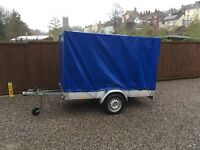 8 x 4 Covered Camping Trailer