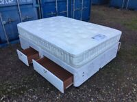 Luxury Double Bed & Thick Mattress Clean Condition Free Delivery In Norwich,