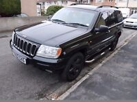 2002 JEEP GRAND CHEROKEE 60TH ANN. BLACK