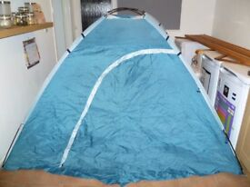 3 man compact tent, like new, used once