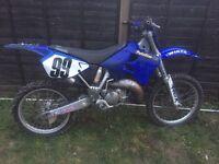 Yamaha yz 125 2 stroke motor cross bike