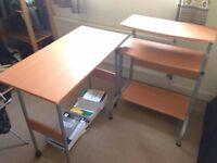 2-part desk - great condition.