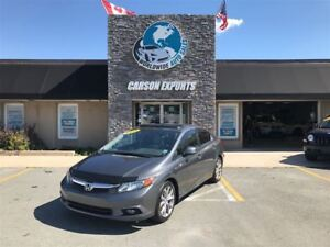 2012 Honda Civic WOW CLEAN LOADED EX-L! FINANCING AVAILABLE!