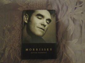 Softback book - Morrissey - Autobiography