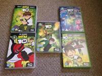 Ben ten DVDs