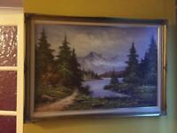 Large Landscape Oil Painting