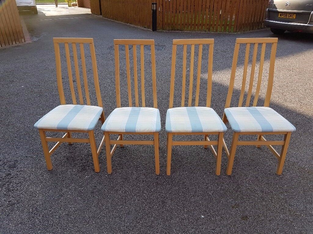 4 Tapley Solid Oak Chairs FREE DELIVERY 518