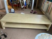 Pick up today reduced price had 70 inc tv on it long unit can't remember size