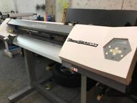 Roland vp300 solvent printer not mimaki Mutoh or epson