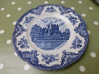 """8 Johnson Brothers Old Britain Castles 10"""" Dinner Plates"""