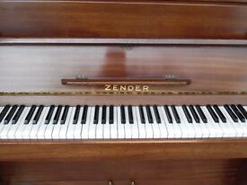 upright piano by zender