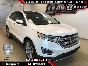 Used 2016 Ford Edge Titanium-AWD, Heated Leather, Moonroof, Back