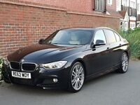 "BMW 318d M SPORT Saloon (2012/62) + VERY HIGH SPEC + SAT NAV + REVERSE CAMERA + 19"" WHEELS + XENONS"