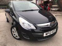 12 plate - Vauxhall corsa 1.3 diesel - eco flex - 20£/ year road tax - 79k milleage