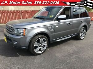 2010 Land Rover Range Rover Sport SC, Automatic, Navigation, Lea
