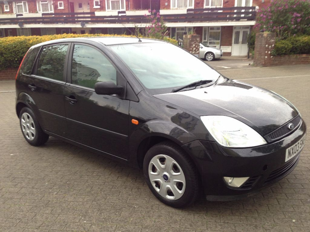 ford fiesta 2003 auto black 5 door 1 4 petrol 6 month mot. Black Bedroom Furniture Sets. Home Design Ideas
