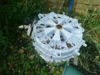Free washing machine drum