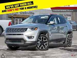 2017 Jeep New Compass Limited | HEATED LEATHER | NAVIGATION