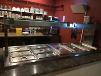 Stainless Steel Carvery Unit - Ref 5011