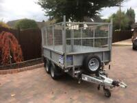 Ifor Williams 2016 /8x5 drop side trailer with cages
