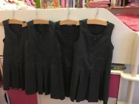 Bundle Of 5 x Marks and Spencer Grey Pinafore/ Uniform 5-6y NW6/Gunnesbury