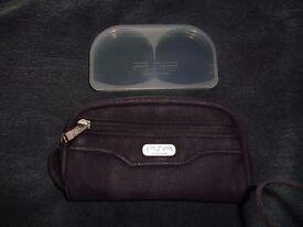 Original Sony PSP Storage case with game storage case in Southampton