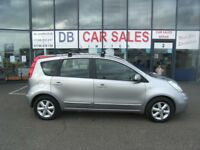 2008 08 NISSAN NOTE 1.4 ACENTA 5D 88 BHP **** GUARANTEED FINANCE **** PART EX WELCOME