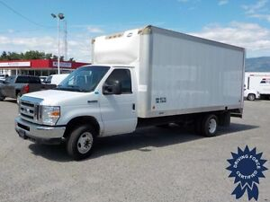 2012 Ford E-450 16 ft Cube Van