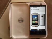 Htc M9 Gold/Silver , unlocked, brand new cond