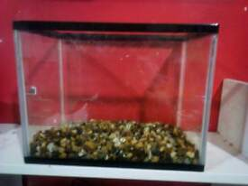 Unwanted small fish tank for sale