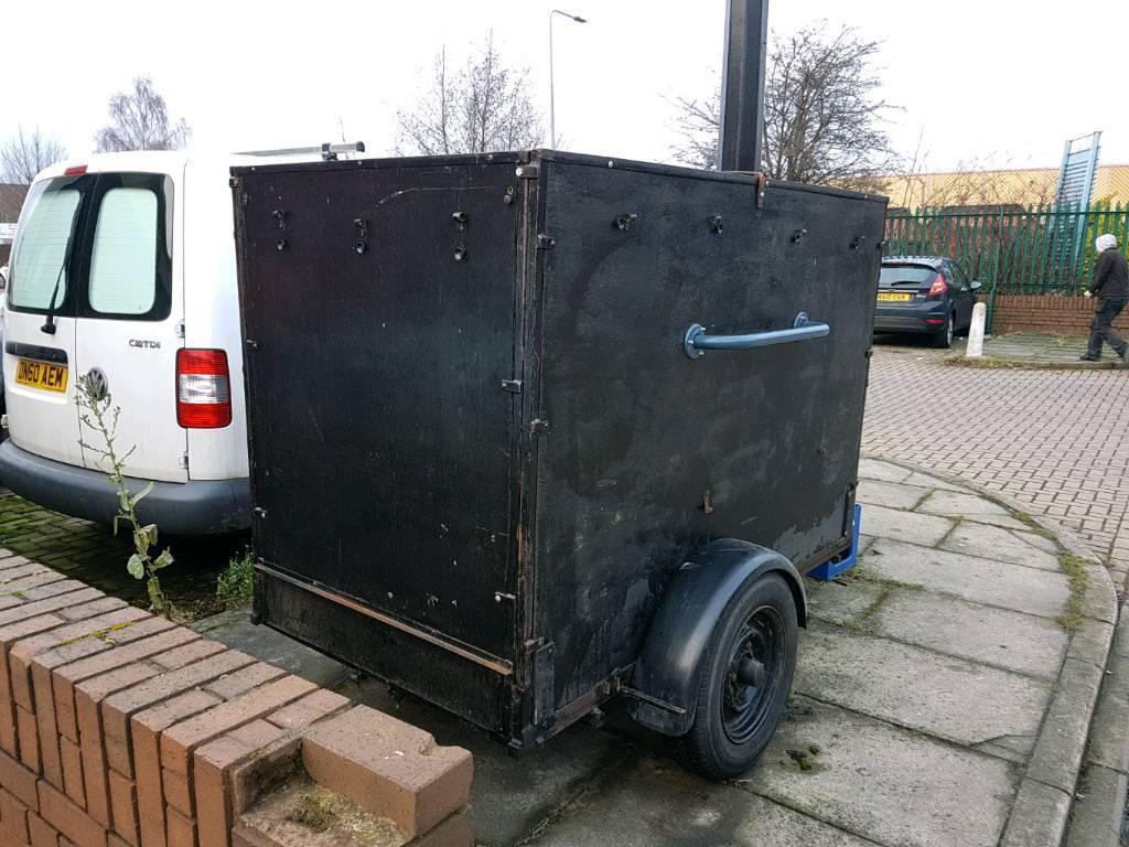 Box trailer 6x3 /motorcycle.
