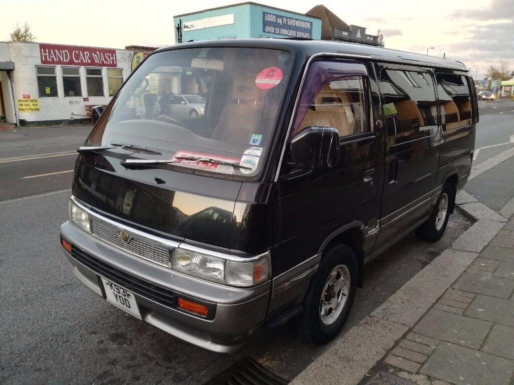 Nissan caravan GT 4x4 cruise campervan/ 4x4 nissan caravan homy